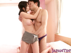 Amazing oral sex wit ha very passionate Japanese teenager