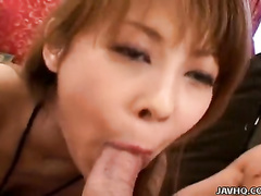 Fishnet stockings girl mouth and pussy fuck