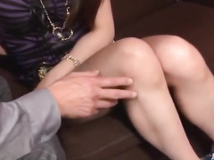 Asian girl squirts from masturbation and fuck
