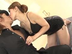 Guys licking and fucking the Asian nub zealously