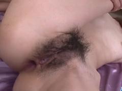 Skinny Asian babe enjoys hardcore double penetration fuck