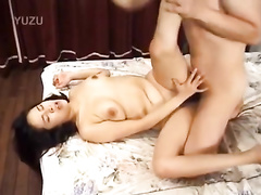 Pretty young Asian cutie is steamingly exciting from having pussy fondled