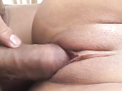 Cutie Japanese babe gets fingered and hotly fucked