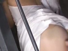 Beautiful Asian babe enjoys hardcore fuck in the cage