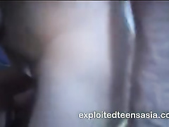 Philippine bubble butt slut fucks hard and takes cum on tongue